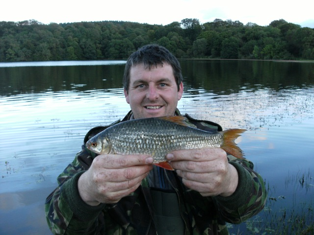 Andy with a stunning Roach