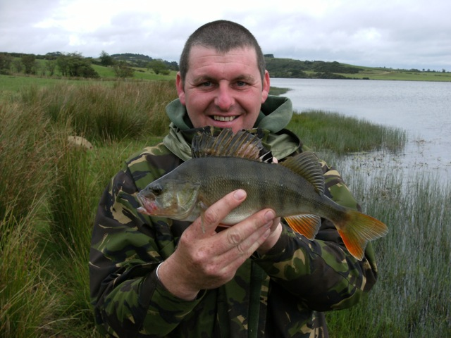 Andy with a Perch