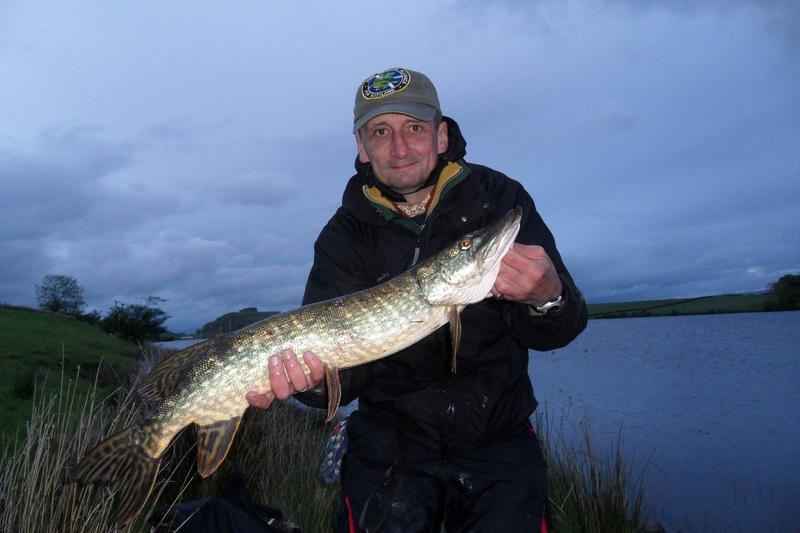 Simon with a nice Ascog fish